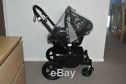 3in1 Bugaboo Cameleon3 in White Off inc Maxi Cosi Peble i-Size Car Seat