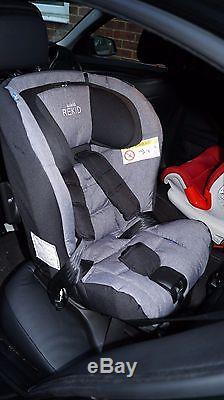 Axkid Rekid Grey Extended Rear Facing Car Seat Group 1 2 Up To 25 Kg
