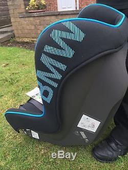 bmw baby child car seat group 1 isofix black and blue. Black Bedroom Furniture Sets. Home Design Ideas