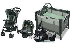 Baby Boy Stroller with Car Seat Travel System Combo Playard Nursery Diaper Bag