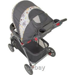 Baby Infant Stroller Car Seat Travel System Combo Adjustable Safety Harness NEW