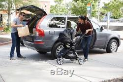 Baby Jogger 2017 City Mini Travel System Black with Stroller & City Go Car Seat