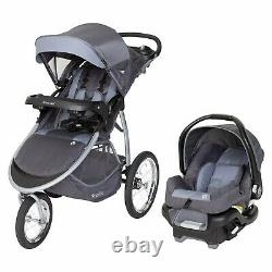 Baby Jogging Stroller Travel System with Car Seat High Chair Playard Combo