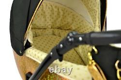 Baby Pram Pushchair MODO NEXT Eco-leather Travel System 3in1 4in1 Car Seat + Iso