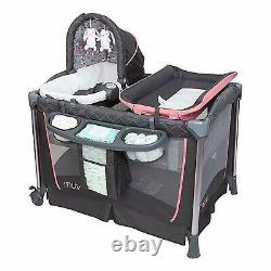 Baby Stroller Travel System with Car Seat High Chair Playard Combo Set Floral