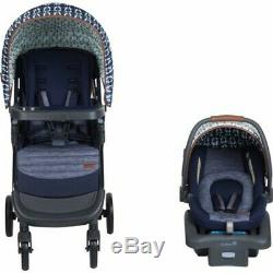 Baby Stroller Travel System with Car Seat Infant Playard Combo Set -Blue New