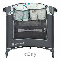Baby Stroller Travel System with Car Seat Infant Playard Crib Combo New