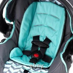 Baby Stroller Travel System with Car Seat Infant Playard Swing High Chair Set