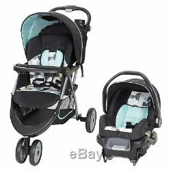 Baby Stroller Travel System with Car Seat Playard Infant Swing High Chair Combo
