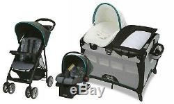 Baby Stroller with Car Seat Travel System Infant Nursery Crib Combo Graco