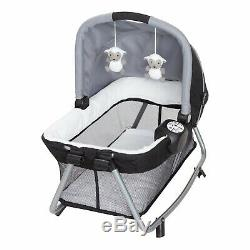 Baby Trend Double Stroller with 2 Car Seat Twin Playard Travel System Combo