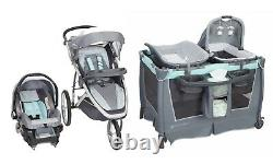 Baby Trend Jogger Stroller Car Seat Travel System Combo with Playard Combo New