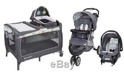 Baby Trend Stroller Infant Car Seat Playard Crib Travel System Combo Set