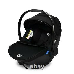 BabyLo Cloud XT 3 in 1 Travel System Pushchair, Carrycot & Car Seat Black
