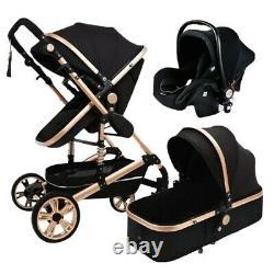 Brand New Stroller With Car Seat 3 in 1 For Newborn and Toddlers Fast Shipping