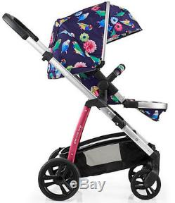 Brand new Cosatto Wow Pram and pushchair in Eden with Port Car seat & Raincover