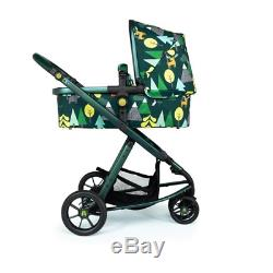 Brand new Cosatto giggle 3 Travel system Into the Wild with Car Seat & raincover