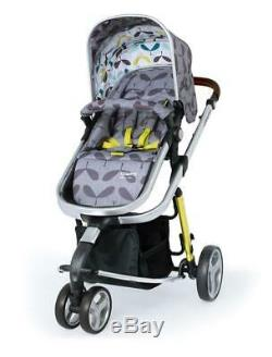 Brand new Cosatto giggle 3 in Seedling with Car Seat adapters and Raincover