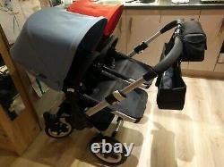 Bugaboo donkey duo twin buggy with Maxi-Cosi car seats set and other bundles