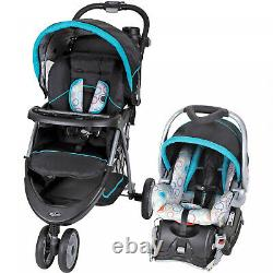Car Seat and Stroller Combo Set Baby Infant Kid Newborn Travel System Blue New