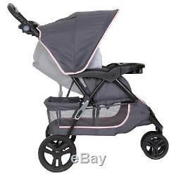 Car Seat and Stroller Combo Set Baby Infant Kid Newborn Travel System Pink New