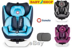 Car seat Lionelo Bastiaan 360 degree rotation 0-36 kg front and rear facing