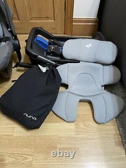 Car seat Nuna pipa lite rear facing isofix condition used for 8 months