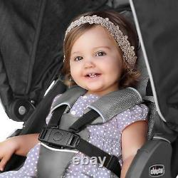 Chicco Bravo Air Stroller with KeyFit 30 Zip Car Seat Travel System Q Collection