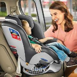 Chicco NextFit Zip Convertible Child Safety Baby Car Seat Carbon NEW