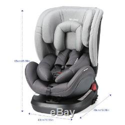 Child Baby Car Seat Safety Booster for 0+/1/2/3 9-36KG Adjustable & Reclining UK