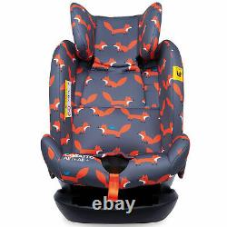 Cosatto All in All Plus Group 0+1/2/3 Car Seat Mister Fox