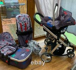 Cosatto Giggle 2 Complete With Travel System Car Seat & Covers