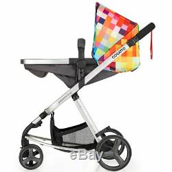 Cosatto Giggle Mix Marvellous Bundle Travel System with Hold Car Seat, Pixelate