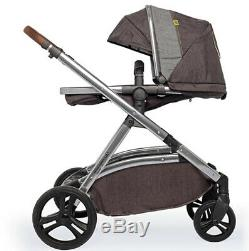 Cosatto Wow XL tandem pushchair Mister fox with Car Seat buggy board & Raincover