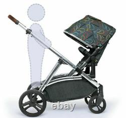 Cosatto Wow XL tandem pushchair Nordik with buggy board Car seat & Raincover