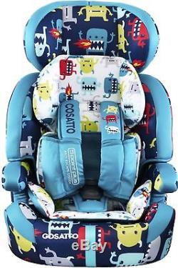 Cosatto ZOOMI 123 CAR SEAT 9 36KG Travel/Car Safety Baby/Toddler/Child BN