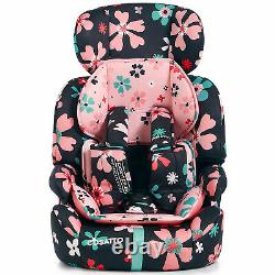 Cosatto Zoomi Group 1/2/3 Child Car Seat with 5 Point Plus Paper Petals 9-36kg