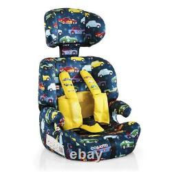 Cosatto Zoomi Group 123 Car Seat with 5 Point Plus (Rev Up) From 9 Months