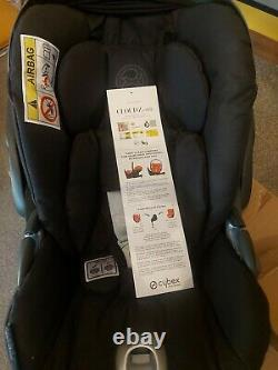 Cybex Cloud Z I Size 360 Degree car seat. Black. Next Day Delivery