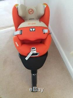 Cybex Sirona Car Seat in Autumn Gold, Isofix compatable