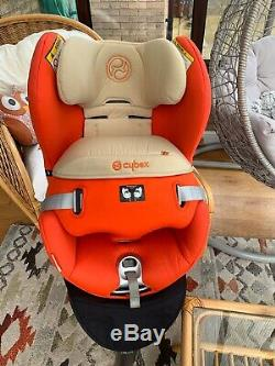 Cybex Sirona Car Seat swivel 0-4yrs Autumn Gold Isofix Excellent cond Was £380
