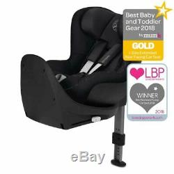 Cybex Sirona S i-Size 360 Spin Car Seat Birth to 4 Years ERF Lavastone Black