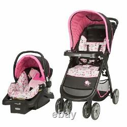 Disney Baby Travel System with Car Seat High Chair Infant Walker Playard Combo