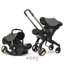Doona Baby Car Seat Stroller Group 0+ Grey Hound incl. Seat Protector