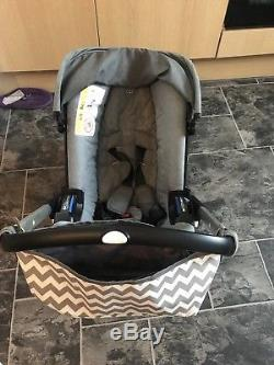 Doona Car Seat Stroller in Storm Group 0 Birth to 13kg