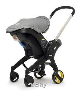 Doona Grey Infant Storm Car Seat Stroller ISOFIX compatible From Argos 04 mg