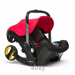 Doona+ Group 0+ Infant Car Seat Flame Red Birth To 13kg Belted Rear Facing