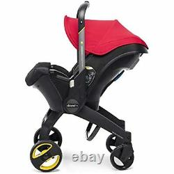 Doona Infant Car Seat & Latch Base Car Seat to Stroller Flame Red US Version