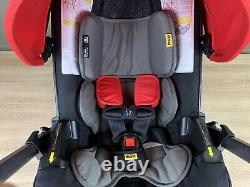 Doona Infant Car Seat & Latch Base, Flame Red