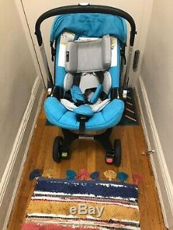 Doona Infant Car Seat & Latch Base, Navy Blue, Used, Look Like Brand New